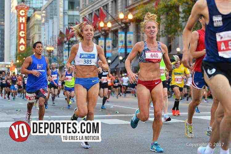 Alison Nolan-Erica Weitz-Chicago Maraton 2017