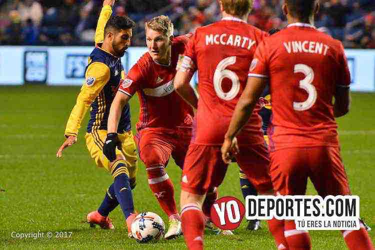Bastian Schweinsteiger-Chicago Fire-New York Red Bulls-MLS Cup Playoffs