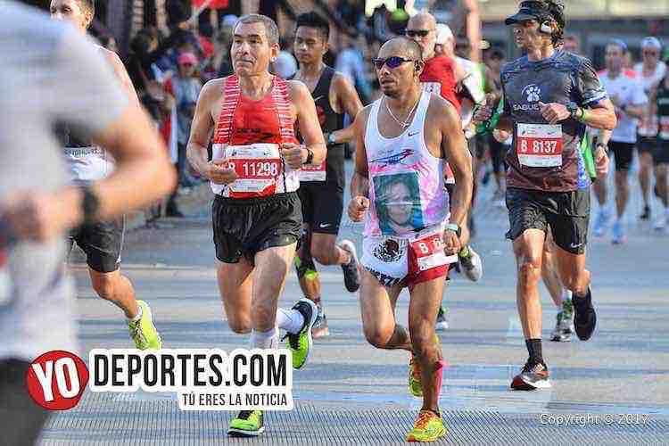 Bernabe Rogel-Francisco Guerrero-Chicago Maraton