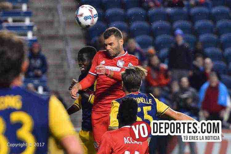Chicago Fire-New York Red Bulls-MLS Cup Playoffs-Nemanja Nikolic