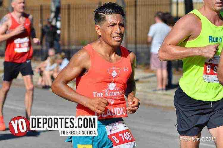 Claudio Loja-Chicago Maraton