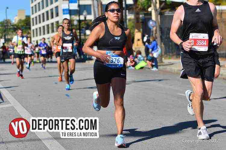 Columba Montes-Chicago Maraton 2017