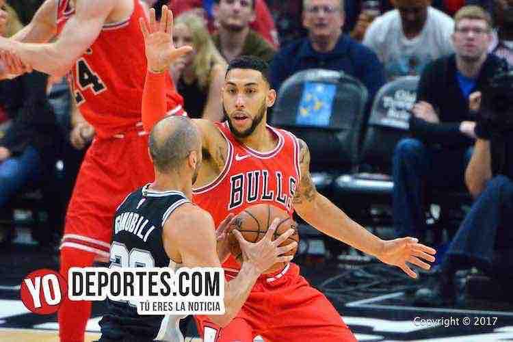 Denzel Valentine-Chicago Bulls-San Antonio Spurs
