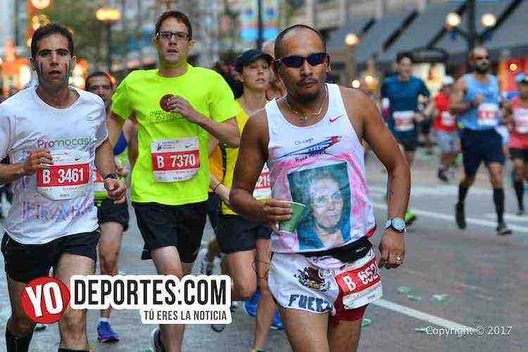 Francisco Flaco Guerrero-Chicago Maraton 2017