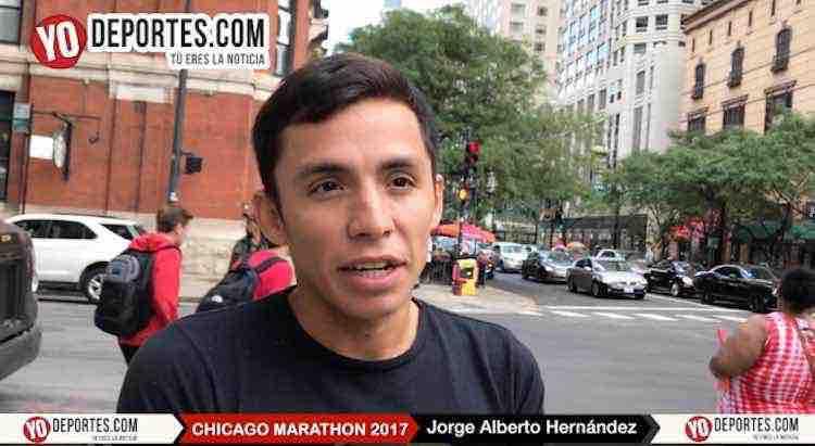 Ganador del Maratón de Monterrey Jorge Alberto Hernández corre el domingo en Chicago
