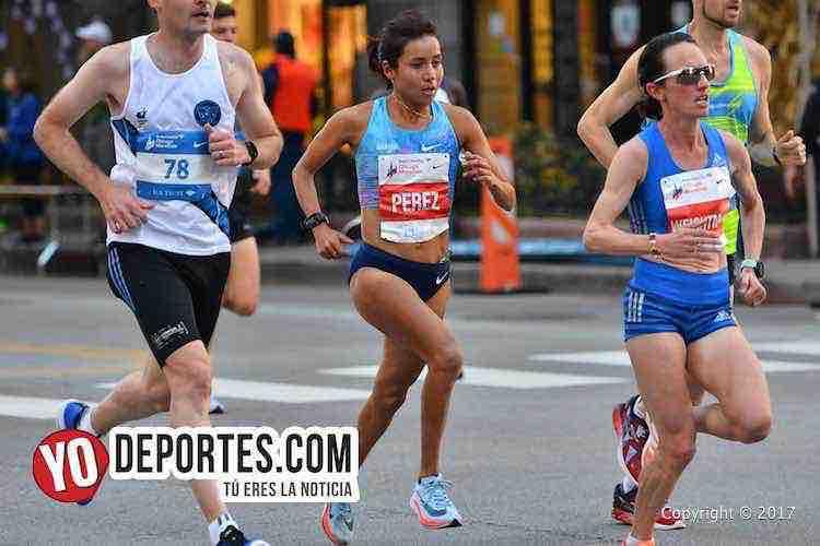 Madai Perez-Chicago Maraton 2017