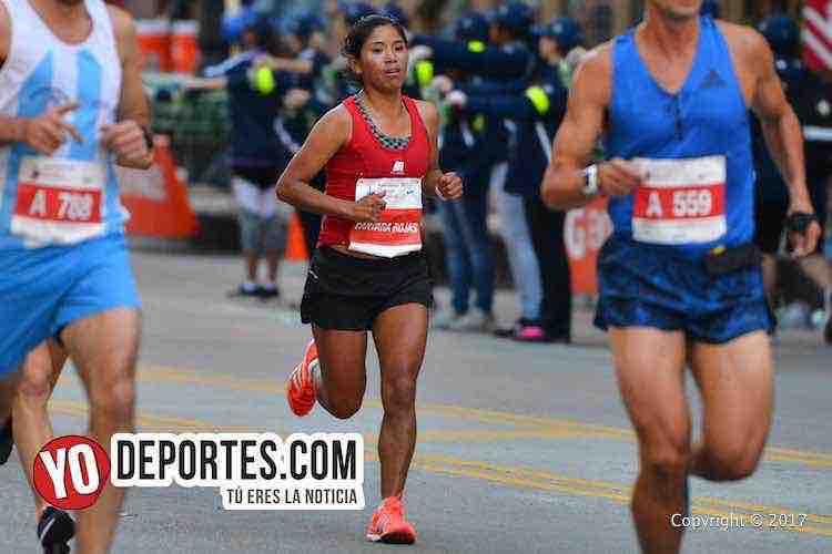 Rocio Cantara Rojas-Chicago Maraton 2017