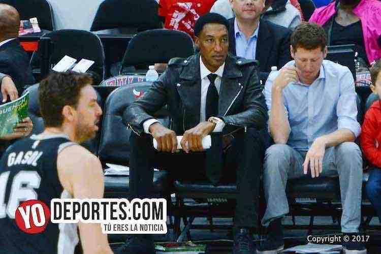 Scottie Pippen-Chicago Bulls-San Antonio Spurs