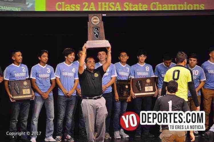 Adrian Calleros-Solorio Academy Illinois State Champions