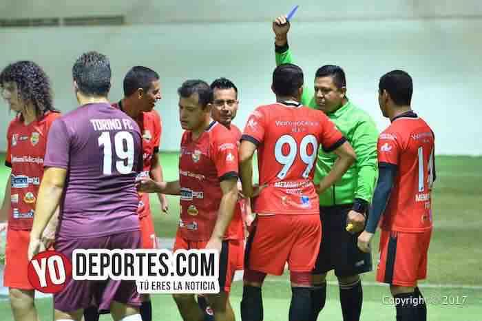 Arbitro Atletico Torino-America Salcaja-Xelaju-Cuadrangular guatemalteco