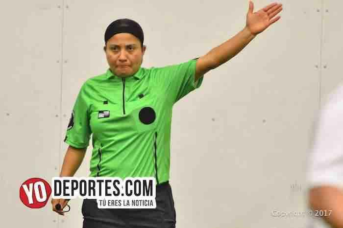Arbitro Rosalba Luna-Deportivo La Cruz-Mamiferos-Liga Douglas