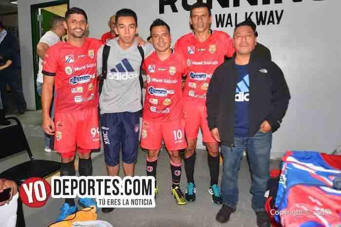 Atletico Torino-America Salcaja-Xelaju-Cuadrangular guatemalteco-futbol