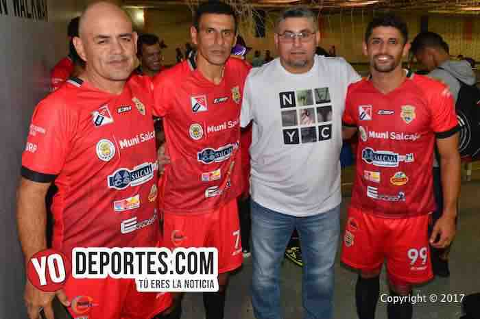 Atletico Torino-America Salcaja-Xelaju-Cuadrangular guatemalteco-roberto fonseca