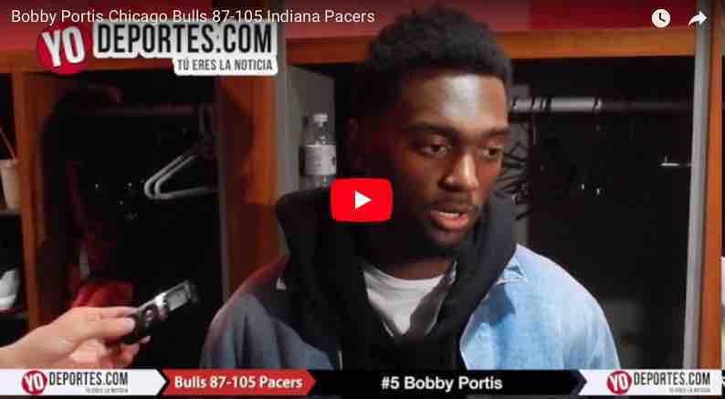 Los Bulls vuelven a perder ahora con los Pacers de Indiana