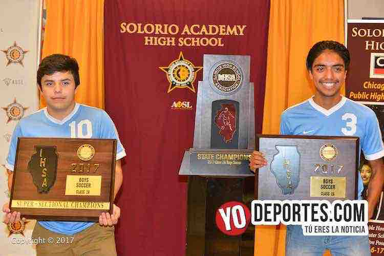 Campeones-Solorio Academy Illinois State Champions-IHSA