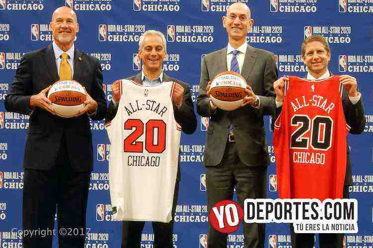 Chicago sede del Juego de Estrellas NBA All Star Game 2020