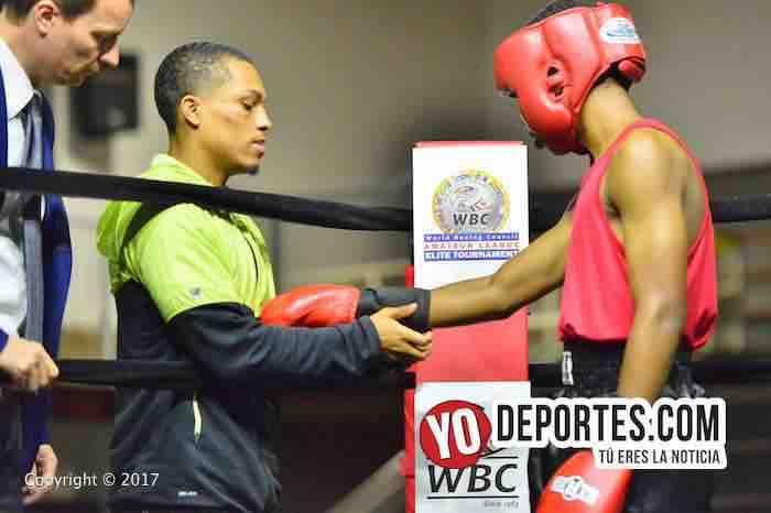 Justin Boyd-WBC-Torneo Amateur Cicero Stadium