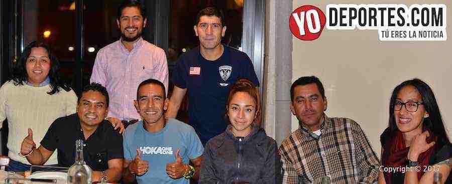 Entrevista con el medallista olímpico Leo Manzano y Chicago Road Runners
