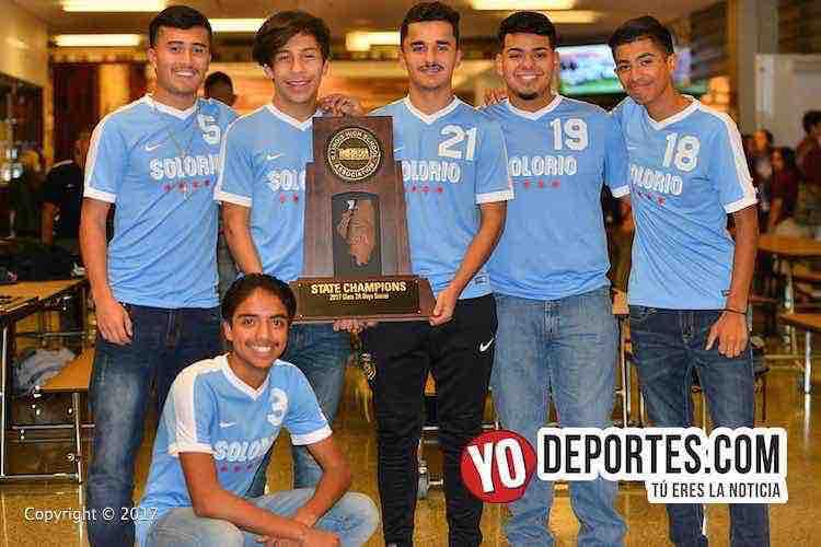 Solorio Academy Illinois State Champions-IHSA-campeones