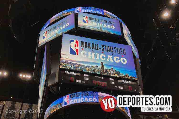 United Center-Chicago Bulls NBA Allstar 2020