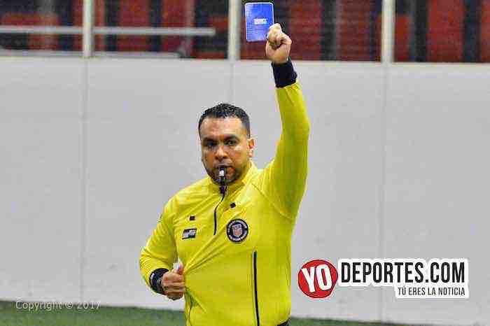 Arbitro Edmundo Ramirez-Fire Evolution-San Antonio-Mundi Soccer League