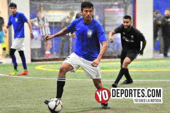 Woody Sánchez anota gol del gane para Chicago Soccer en la Champions