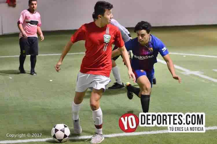 Chicago North Soccer League-Chicago Arsenal-Aguilas Sierra-futbol-indoor