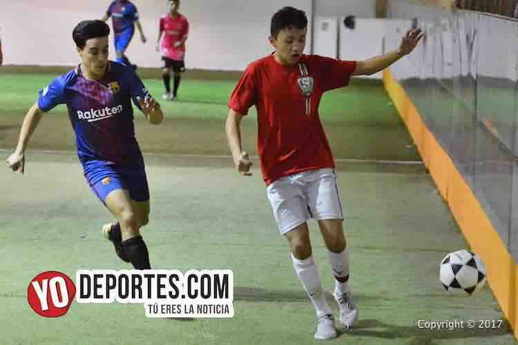 Chicago North Soccer League-Chicago Arsenal-Aguilas Sierra-indoor