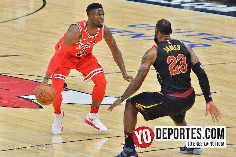 David Nwaba-LeBron James-Chicago Bulls-Cleveland Cavaliers