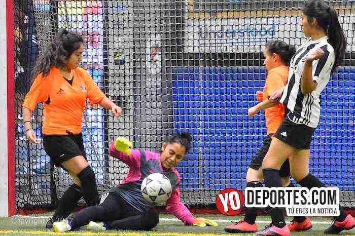 Estrellas cierran temporada femenil ganando a Ruditas de AKD Women Premier Academy Soccer League