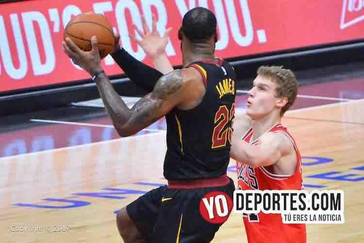 LeBron James-Lauri Markkanen-Chicago Bulls-Cleveland Cavaliers