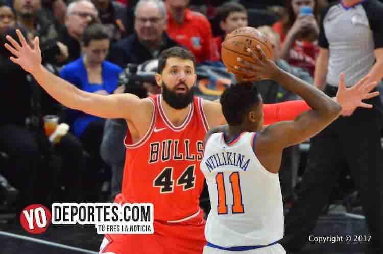 Nikola Mirotic-Frank Ntilitina-Chicago Bulls-New York Knicks