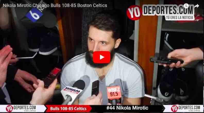 ¡Sorpresa! los Bulls derrotan a los líderes Celtics de Boston y dejan el sótano