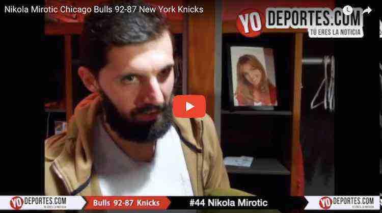 Los Bulls de Chicago derrotan a los Knicks de Nueva York