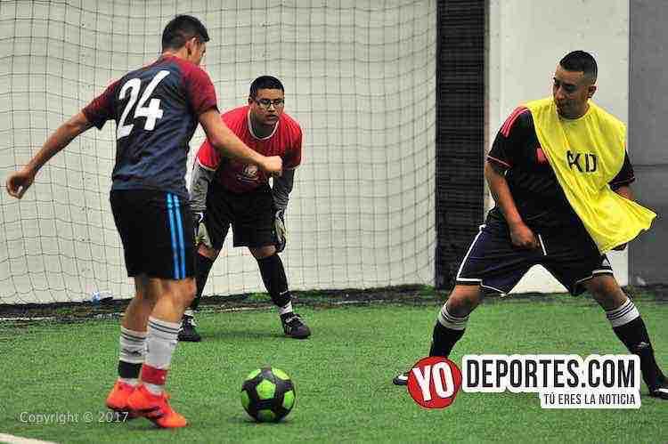 Sin Banca San Cristobal metió 14 goles en AKD Soccer League