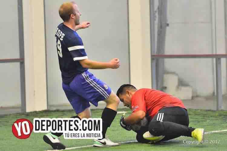Sauti Sol y CD Victoria empatan en la Liga Doulas-indoor soccer