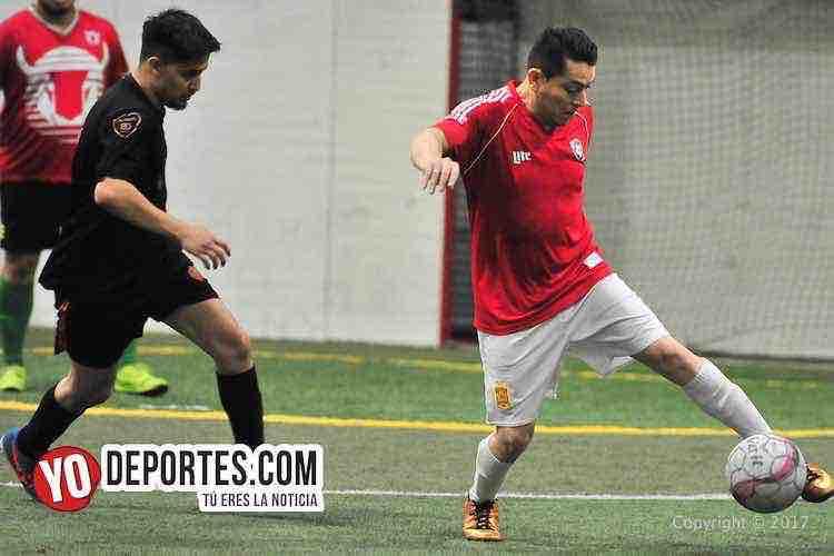 Toros San Jose-Desmadrid-5 de Mayo Soccer League-futbol indoor