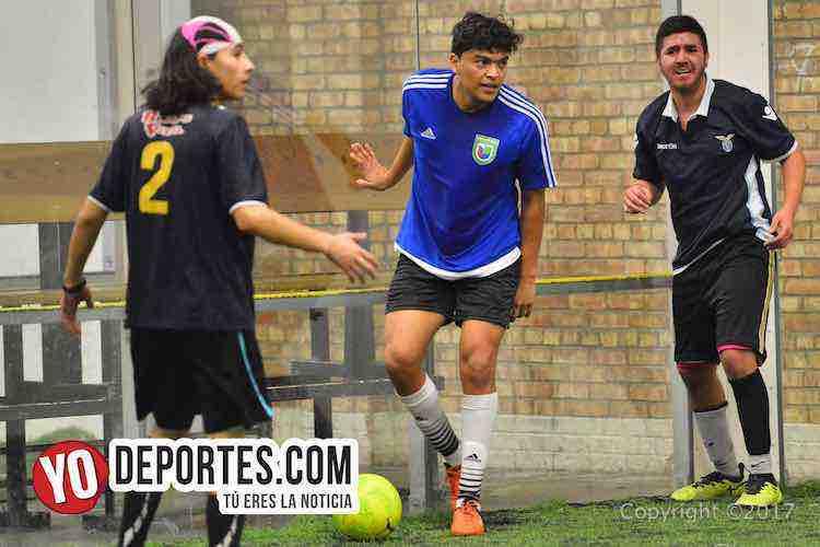 Veracruz vs Deportivo Amistad Liga Douglas-chicago soccer indoor