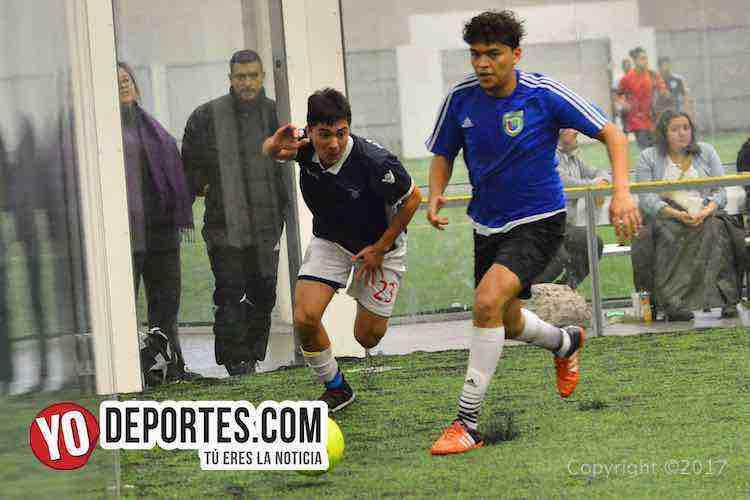 Veracruz vs Deportivo Amistad Liga Douglas-indoor futbol
