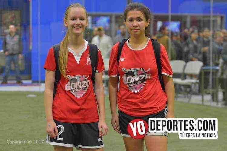 Ana Jakubiec-Meddy Loza-UCSN Gonzo-Real FC-AKD-Women Premier Academy Soccer League