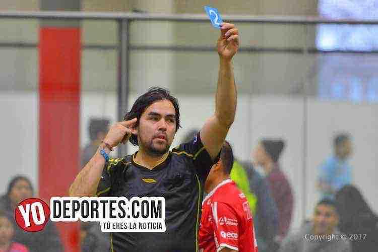 Arbitro Alvaro Cortina-Morelos IV-U de G-Liga 5 de Mayo