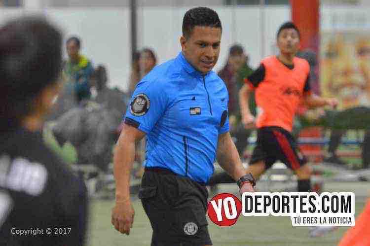 Arbitro Leo Zuniga-Mercadito-Boca Jr-Coed-Liga Latinoamericana