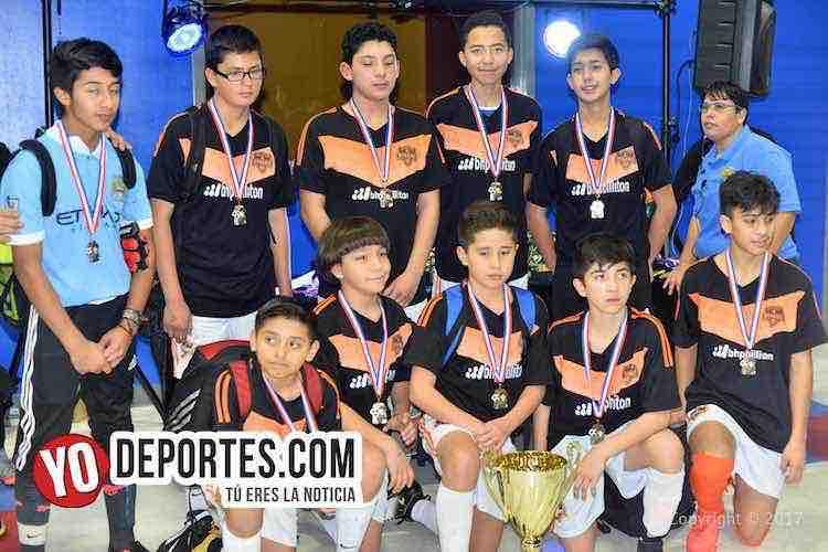 Chicago Dynamo se corona derrotando al peligroso Puebla en Premier Academy Soccer League