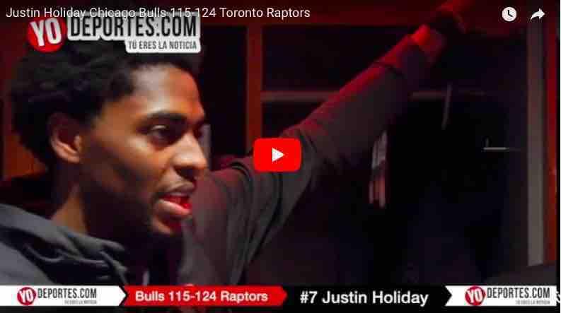 Raptors de Toronto le ganan a los Bulls en el final