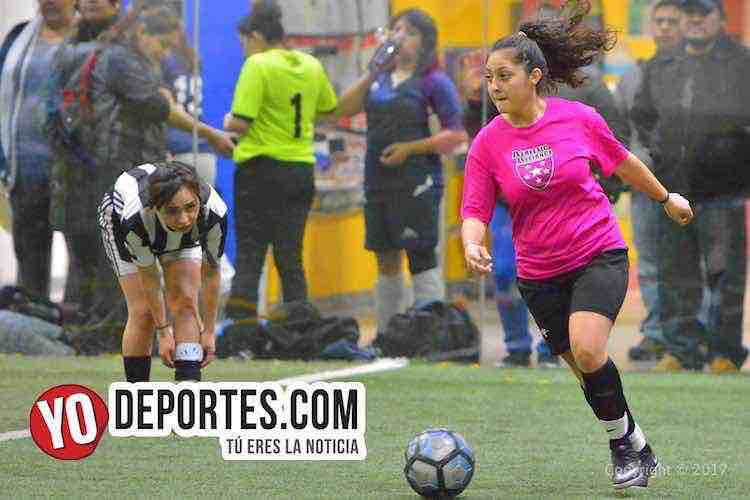 Deportivo Amistad-Alliance FC-AKD-Women Premier Academy Soccer League femenil
