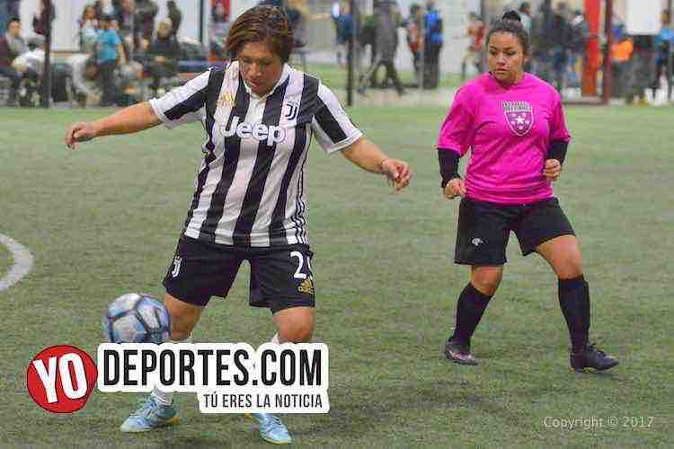 Deportivo Amistad-Alliance FC-AKD-Women Premier Academy Soccer League futbol indoor