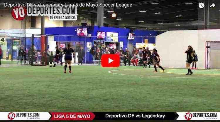 Fotos y video del Deportivo DF contra Legendary