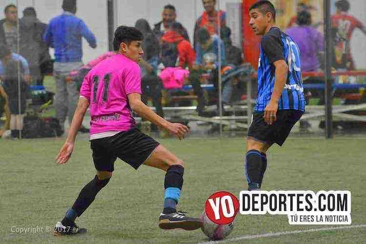 Honduras-Deportivo Garcia-5 de Mayo Soccer League indoor futbol