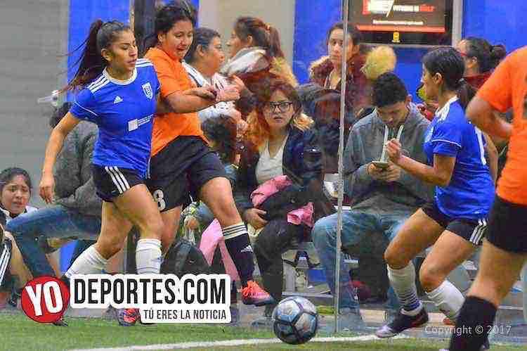 Real Michoacán le gana al Nacional FC en la Champions Femenil de Chicago