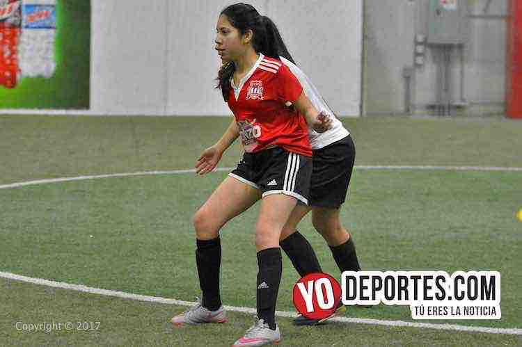 UCSN Gonzo-Real FC-AKD-Women Premier Academy Soccer League-mujeres indoor futbol